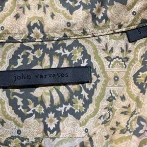 John Varvatos Shirts - John Varvatos Floral Button Down Shirt
